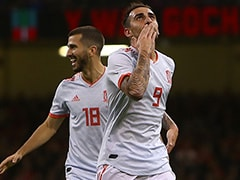Alcacer Makes His Point As Spain Crush Wales In International Friendly