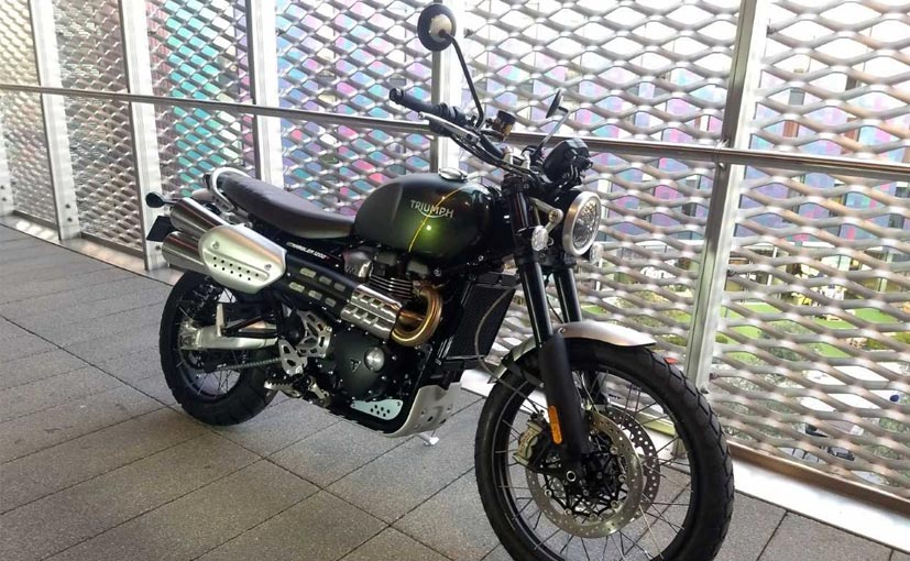 The Triumph Scrambler 1200 is expected to be launched in India in 2019