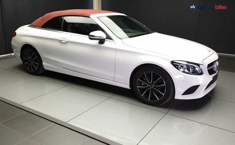 Exclusive: 2018 Mercedes-Benz C-Class Cabriolet Facelift Launched In India; Priced At ₹ 65.25 Lakh
