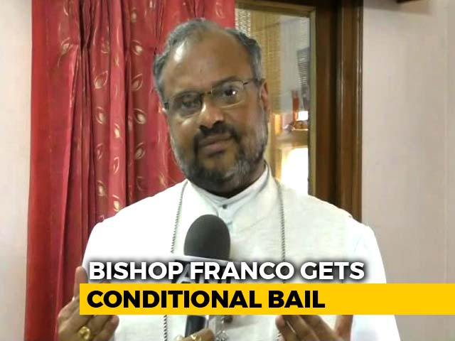 Video : Rape-Accused Bishop Gets Bail, Can Enter Kerala With Conditions