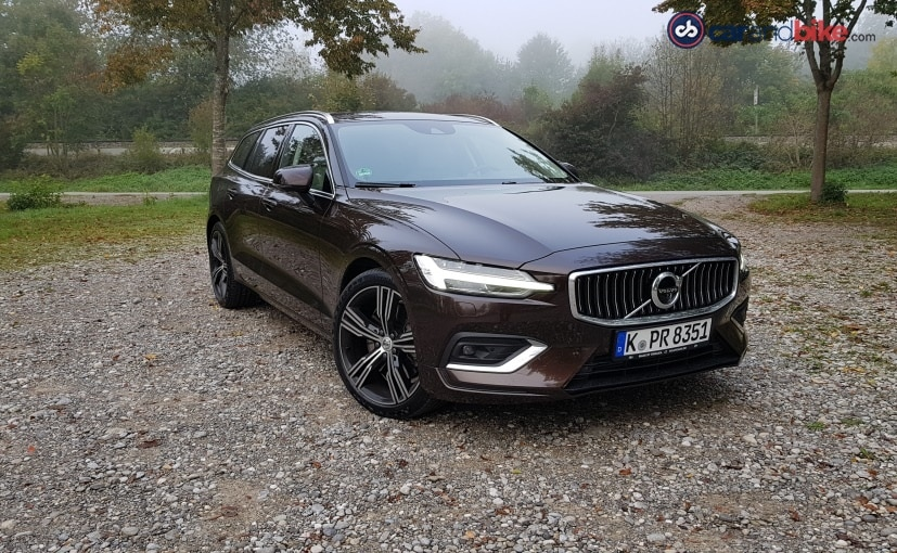 The Volvo V60 is very close to the company soon-to-be-launched new-gen Volvo S60 sedan