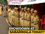 Video : Heavy Police Including Women Personnel Deployed At Sabarimala Base Camp