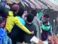 Video Shows Gun-Waving Terrorists Lead Crowds At Funeral In Kashmir