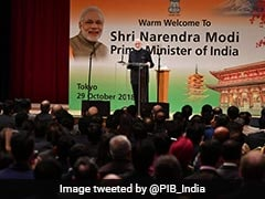 """""""You're Like Diwali Lamps Spreading Light"""": PM Modi To Indians In Japan"""