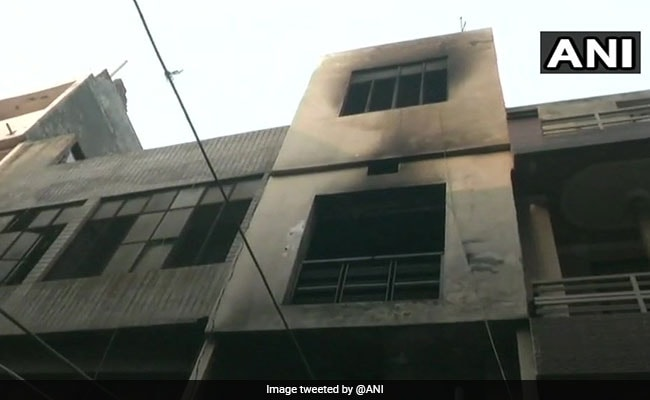 Four Killed In Factory Fire In Densely-Populated Locality In Ludhiana