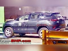 Production Ready Tata Harrier Leaked Ahead Of Reveal Next Month