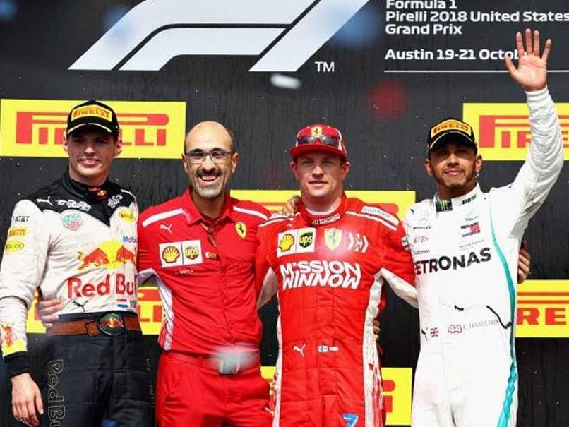 Lewis Hamilton Waits For F1 Title As Kimi Raikkonen wins US Grand Prix