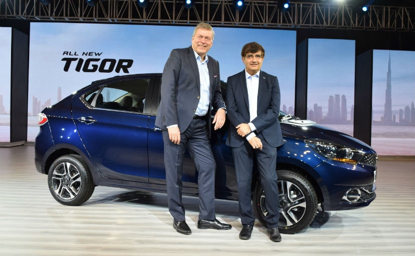 Tata Motors drives in new Tigor at Rs 5.20 lakh