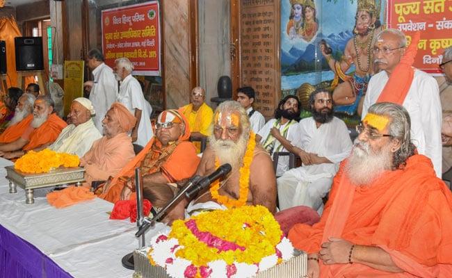In 'Final Battle' For Ram Temple, Vishwa Hindu Parishad Serves A Deadline