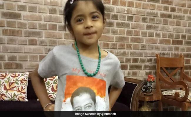 Strangers Wish Little Naina, Daughter Of Officer Killed In Terror Strike