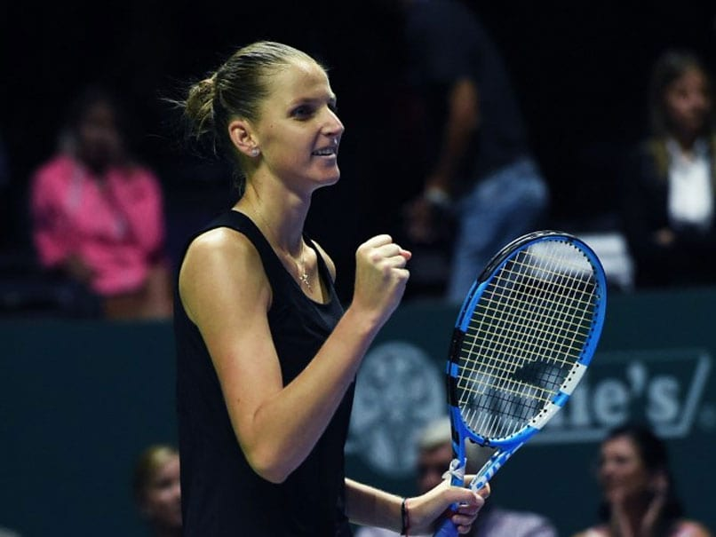 Karolina Pliskova Storms Into WTA Finals Semis After Beating Petra Kvitova