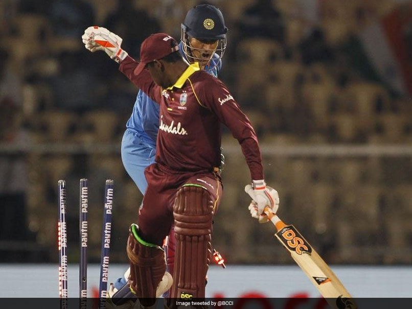 India vs West Indies: MS Dhoni Stumping Takes Just 0.08 Seconds. Watch