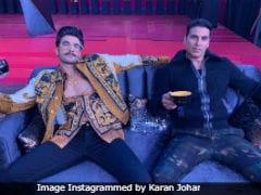 <p>Koffee With Karan</i> 6: Ranveer Singh's Epic Response To Akshay Kumar's Wedding Date Question