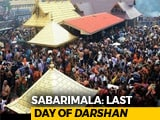 Video : Sabarimala Temple Closes Today, Media Warned Of Attacks, Asked To Leave