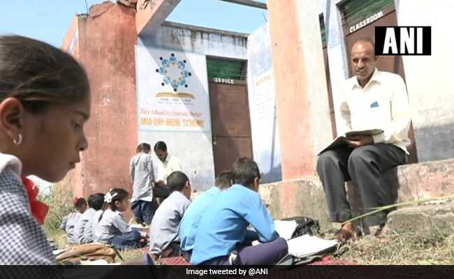 'No Roof, Toilet': What Students Of Jammu And Kashmir School Face Daily