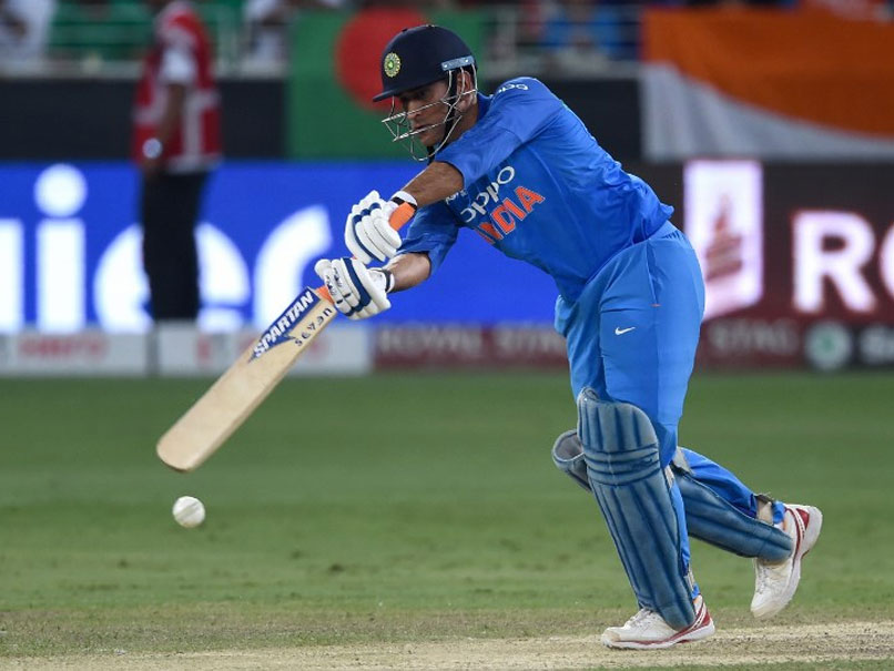 MS Dhoni One Run Away From Scoring 10,000 ODI Runs