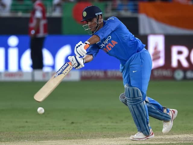 MS Dhoni Just One Run Away From Reaching A Sensational Milestone
