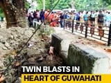 Video : 4 Injured In Explosion At Central Guwahati, Security Tightened At Markets
