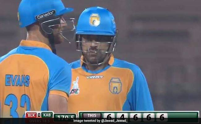 रहस्यमयी गेंदबाज राशिद खान ने की छक्कों की बरसात, एक ओवर में जड़ दिए 28 रन, वायरल हुआ VIDEO