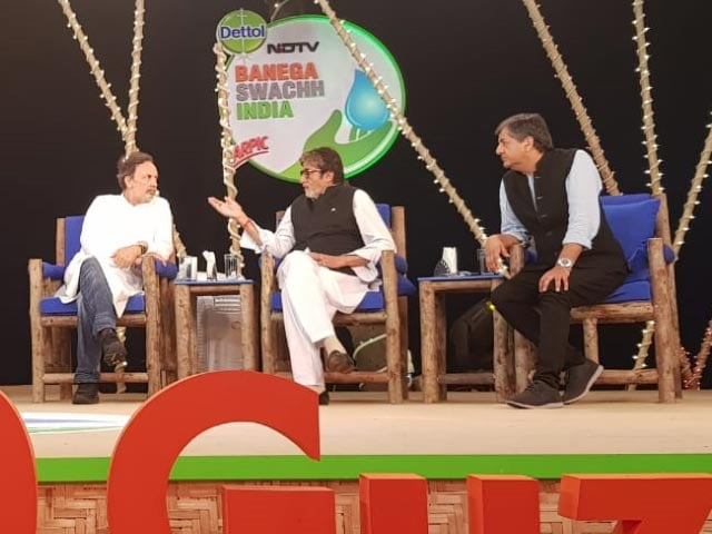 Video : The Best Of NDTV Cleanathon With Amitabh Bachchan