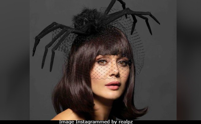 Preity Zinta's Spidey Senses Are Tingling With 'Spook-Taculer' Halloween Look