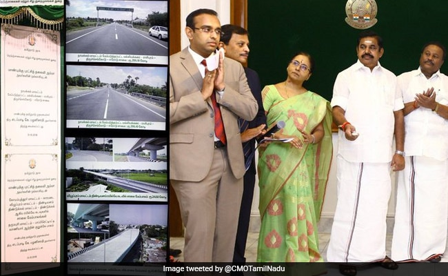 E Palaniswami Inaugurates Projects Worth 620 Crores In Tamil Nadu
