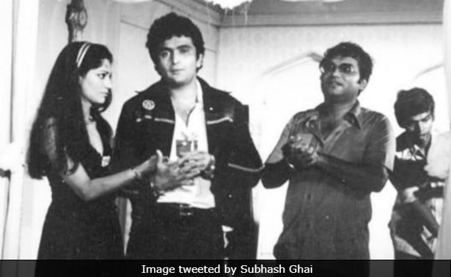 This Throwback Pic Of Rishi Kapoor, Subhash Ghai And Simi Garewal, From The Sets Of Karz, Is 'Still As Fresh As Yesterday'