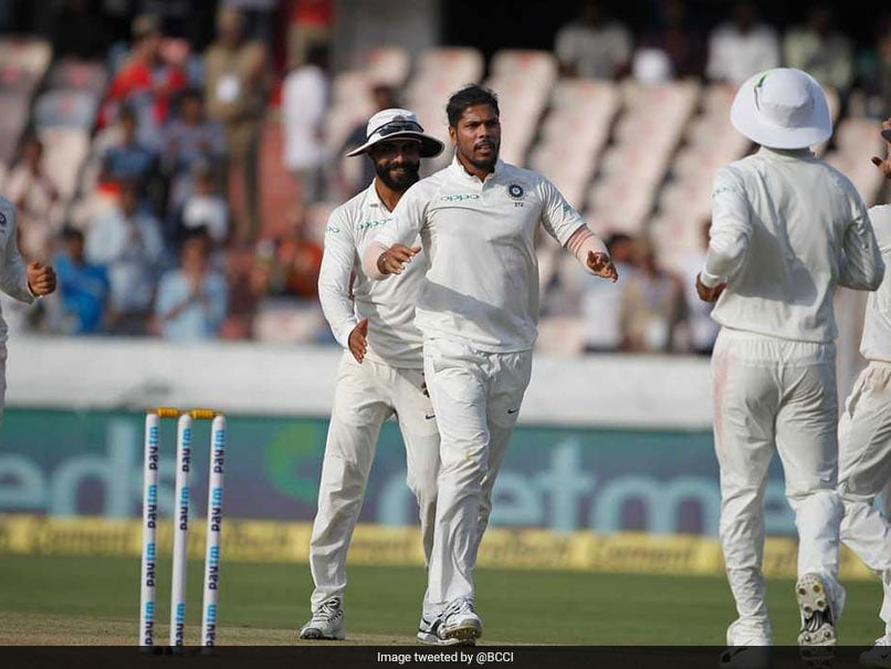 India vs West Indies: Umesh Yadav Takes Career-Best Test Bowling Figures