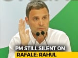 "Video : ""#GreatRafaleCoverUp"": Rahul Gandhi On Nirmala Sitharaman's France Visit"