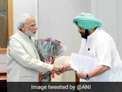 Amarinder Singh Meets PM Modi, Asks Compensation For Stubble Burning