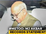 Video : Journalists Tweets Defamatory, Ex-Minister MJ Akbar Tells Court
