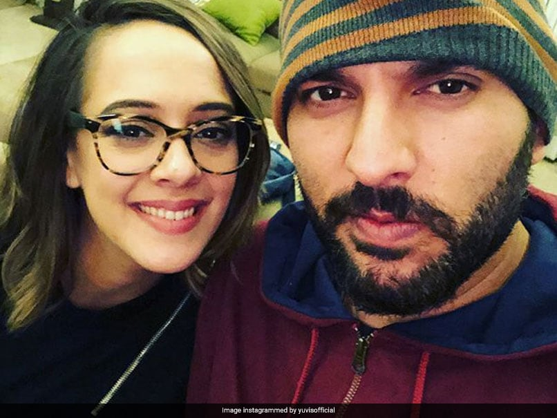 Yuvraj Singh Praises Wife Hazel Keech For Setting Family Goals