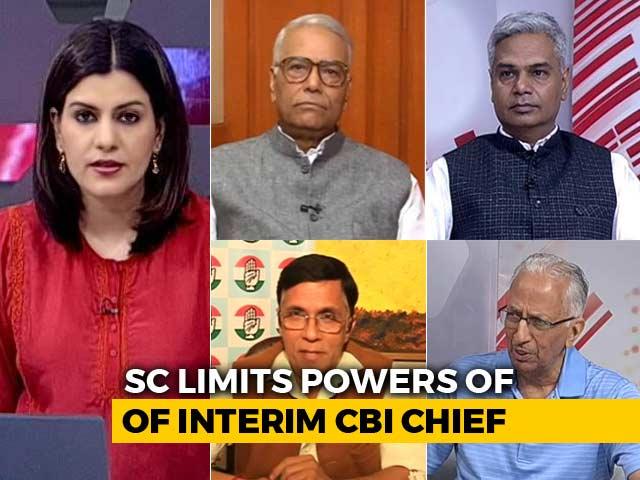 Video : Top Court Sets 2-Week Deadline For Probe Against Exiled CBI Chief