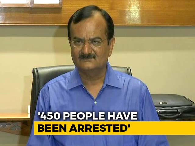 Video : Gujarat Minister Asks Migrants To Return, Says 450 Arrested For Attacks