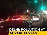 Video : Private Cars May Be Pulled Off Delhi Roads If Smog Thickens: Official