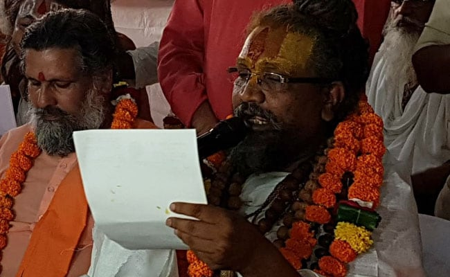 Computer Baba Presses Refresh Button, To Back Congress In Madhya Pradesh