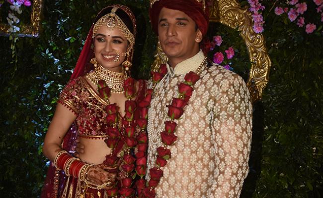 Prince Narula Marries Yuvika Chaudhary In Mumbai. See Pics