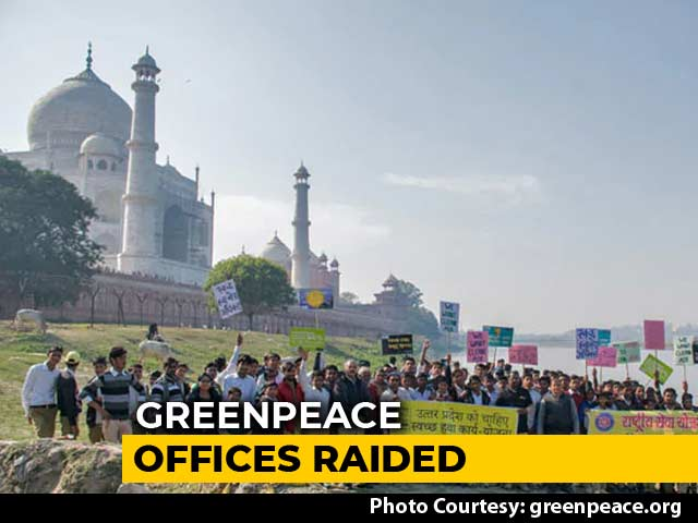 "Video : Greenpeace Says Attempt To ""Muzzle Dissent"" As Investigators Raid Offices"
