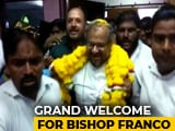 Video : Rose Petals, Garland: Grand Welcome For Rape-Accused Bishop In Jalandhar
