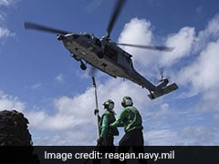 Several Hurt In Chopper Crash On US Carrier In Philippine Sea