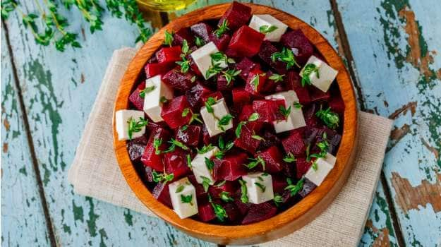 Pickled Beetroot with Feta
