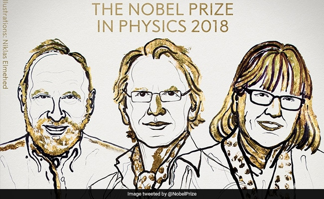 Physics Nobel goes to 3 laser scientists for tools made of light