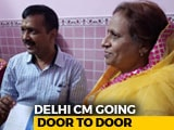 Video : Arvind Kejriwal Begins Door-To-Door Campaign In Delhi Ahead Of 2019 Polls