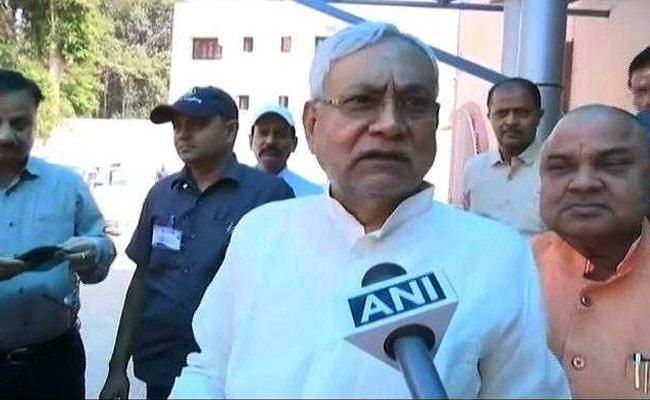 गुजरात में बसे बिहार के लोगों से नीतीश कुमार ने फिर की अपील- आप मज़बूती से वहां रहिए
