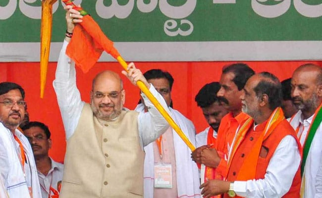 KCR, Rahul Gandhi Pursue 'Break In India' Politics, Says Amit Shah