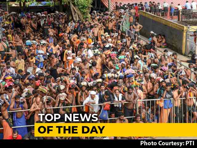 Video : The Biggest Stories Of October 17, 2018