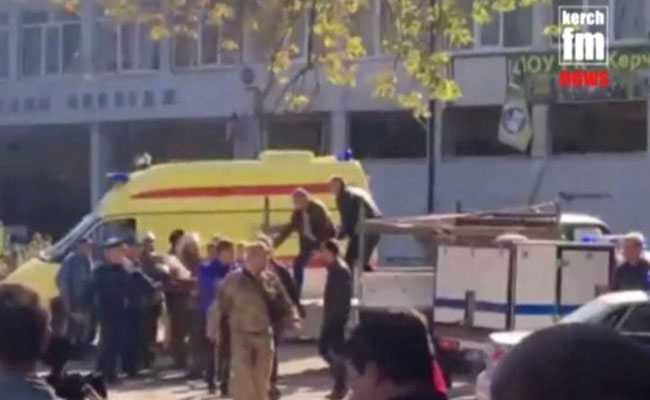 Student Opens Fire At College In Crimea, Kills Himself, 17 Others