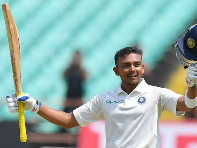 Prithvi Shaw Makes History, Becomes Youngest Indian To Score Test Century On Debut
