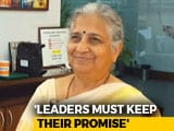 Video : Sudha Murthy On Her Book 'The Upside Down King'