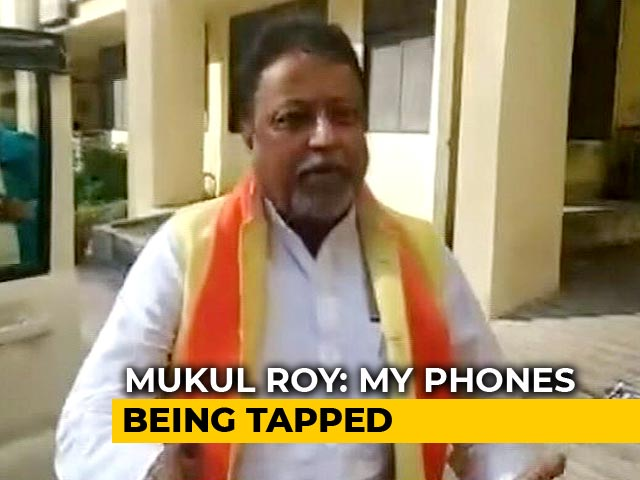 Video : Mukul Roy Alleges Phone Tapping, To Go To Court